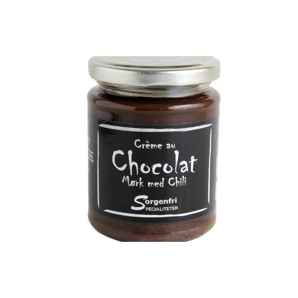 Belgisk chokoladecreme - chili