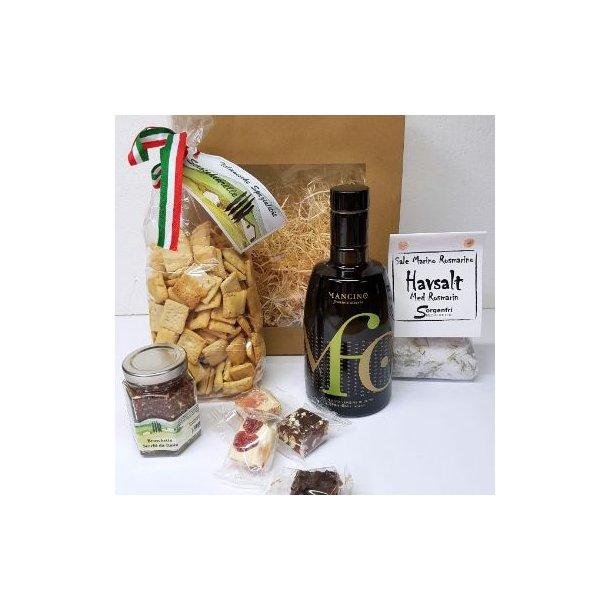 Gavepose med olivenolie