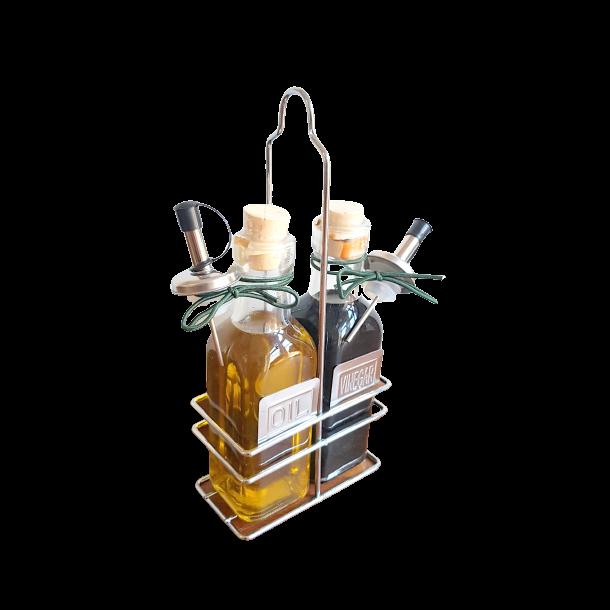 Ekstra jomfru olivenolie/ balsamico rack
