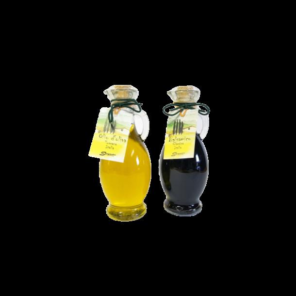 Ekstra jomfru olivenolie og balsamico