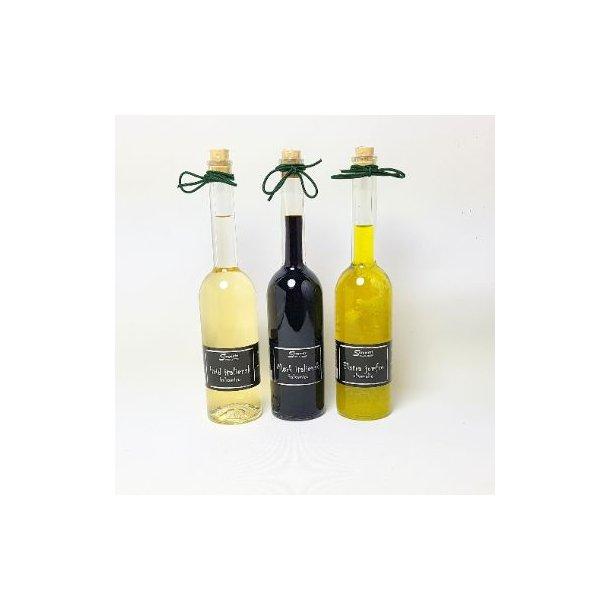 Ekstra jomfru olivenolie ,balsamico og lys balsamico