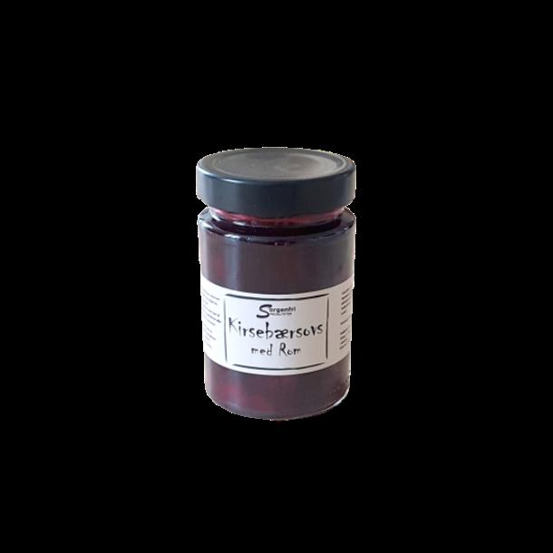 Kirsebær sauce m. rom