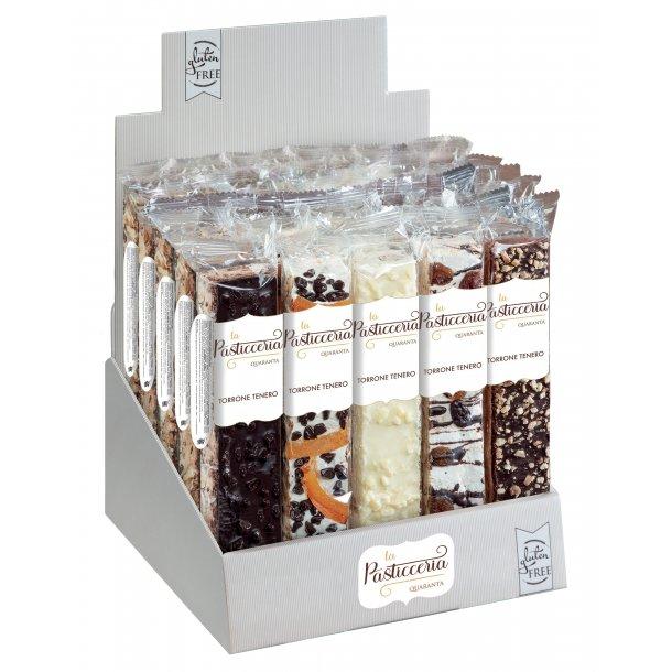Fransk nougat stænger m. cacao mix - stykvis
