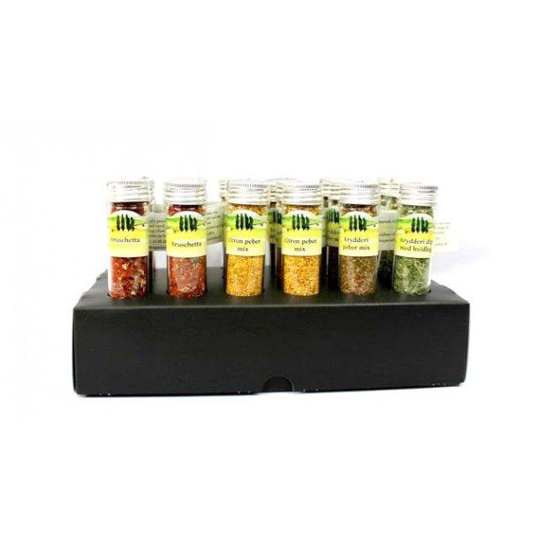 Krydderi display
