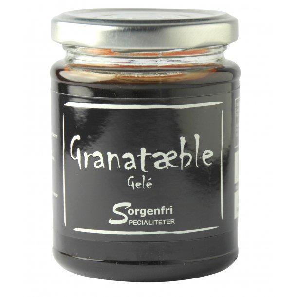 Granatæble gele