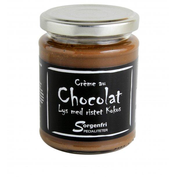 Belgisk chokoladecreme -lys m. rist. kokos