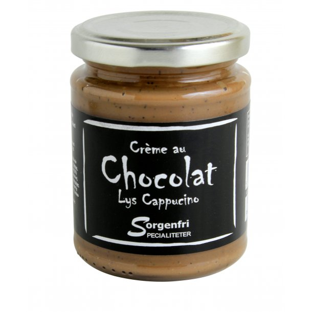 Belgisk chokoladecreme - lys cappucino